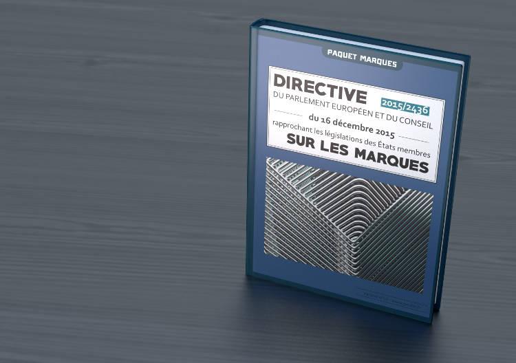 Livre Directive 2436 Paquet Marques