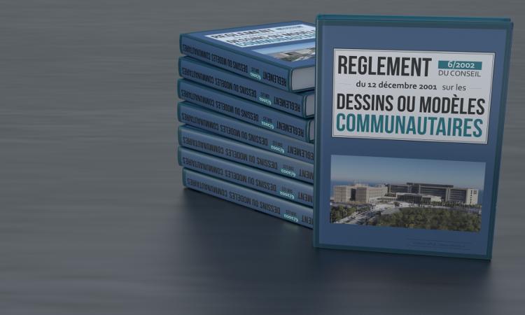 livres Reglement Dessins ou Modeles Communautaires
