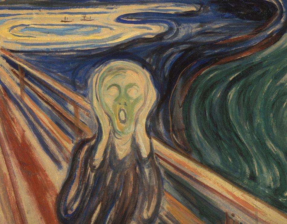 Skrik, Edvard Munch