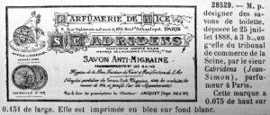 savon anti migraine